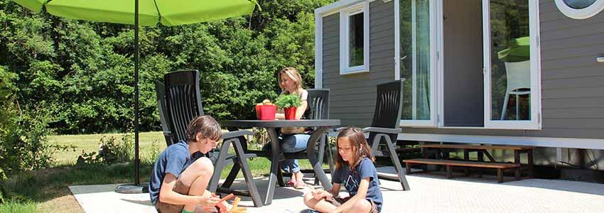 Stacaravan op gezellige familiecamping in de Ardennen
