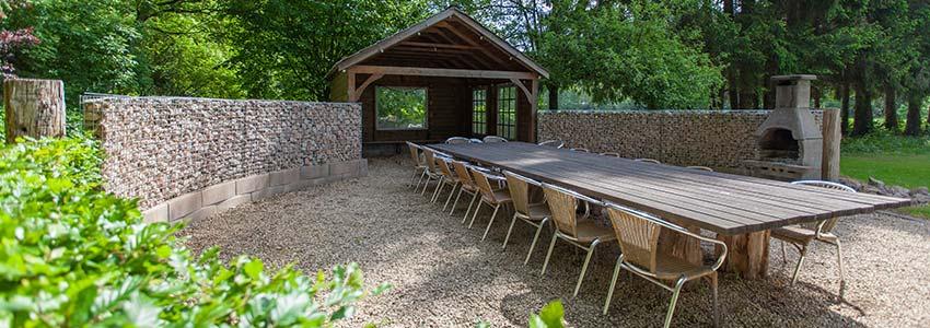 Vakantiehuis in de Ardennen met grote tuin met terras